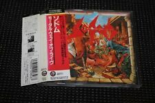 SODOM Mortal Way of Live CD Japan 1989 22DN-123 OOP 1st press Kreator