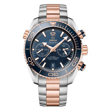 Omega Planet Ocean Master CRONOMETRO CRONOGRAFO 45.5 mm-mai indossato con box & Papers