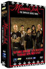 MIAMI INK SERIES 3 - DVD - REGION 2 UK