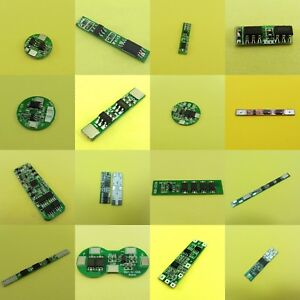 1/2/3 Cell Lithium Battery Module Protection Board BMS PCB 1S/2S/3S Pack 18650