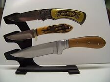 Unique Knife Display Stand for Three Knives Made in the USA !
