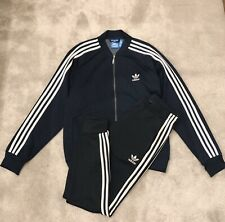 Adidas Superstar Navy Tracksuit M Pants L Hoodie RRP £120 FITS A LARGE