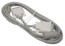 DVI-D Single Link Kabel grau 2m Monitorkabel Bildschirmkabel DVI 18+1 Neu!