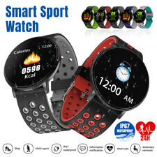 Bluetooth Women Men Smart Watch Sport Fitness Tracker Monitor For iPhone Android