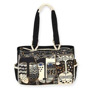 Laurel Burch - Wild Cats- Purse Size Bag LB5802 Free Shipping