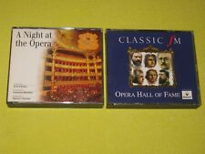 Readers Digest A Night At The Opera & Classic FM Opera Hall Fame 2 Albums 6 CDs