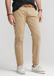 NEW Polo Ralph Lauren Straight 5 Pocket khaki jeans pants 36x30 Classic