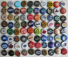 80 MIXED WORLDWIDE MOSTLY CURRENT USED BEER BOTTLE CAPS