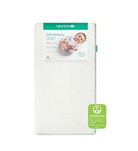 Newton Baby Waterproof Crib Mattress Pad Protector   100% Breathable Proven to