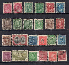 Canada 1898 -1951 Selection of 24 stamps ( 122 )