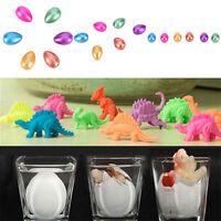 2x Hatching Dinosaur Eggs Inflation Growing Add Water Magic Cute Kids Toy LJ