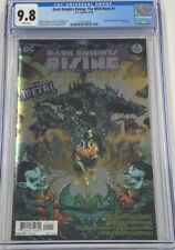 DC Dark Knights Rising The Wild Hunt #1 Foil Cover CGC 9.8 Metal Tie-In