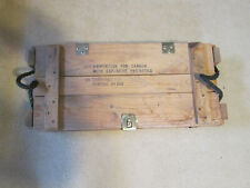 Wood Ammo Crate For Sale Ebay