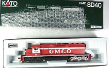 37-6335 Kato HO Scale SD40 Gulf Mobile Ohio