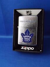 ZIPPO LIGHTER TORONTO MAPLE LEAFS NHL HOCKEY NEW FAN GIFT BOX  VINTAGE LOGO