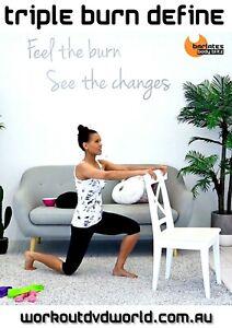 Body Sculpting Weights DVD - Barlates Body Blitz Triple Burn Define Workout