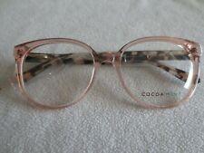 Cocoa Mint pink / brown tortoiseshell glasses frames. New. CM 9060 C2.