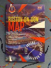 Programm City Map Rostov FIFA World Cup WM Russland Russia 2018 Englisch