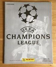 Panini Champions League 1999/2000 Empty Sticker Album