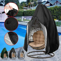 Garden Waterpoof Rattan Egg Seat Protect Outdoor Patio Hanging Swing Chair Cover