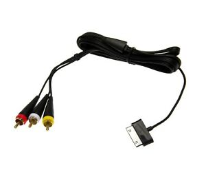 Av Audio Video Adapter Cable TV Out Cable For Samsung Galaxy Tab 1 P1000