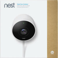 Google Nest Cam Outdoor 1080p Security Camera (NC2100ES) White New