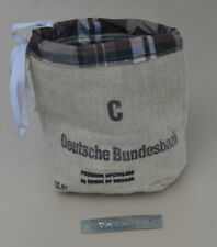 DEUTSCHE BUNDESBANK UTENSILTASCHE / GEWÜRZE TASCHE  Upcycling