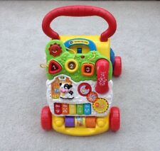 Vtech Baby First Steps Walker / Push Along Activity Centre