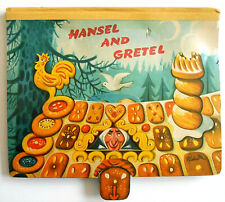 1961  Kubasta HANSEL AND GRETEL 8 pop-ups with movables
