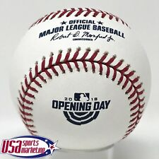 Rawlings Official 2018 Opening Day Game MLB Baseball - Boxed