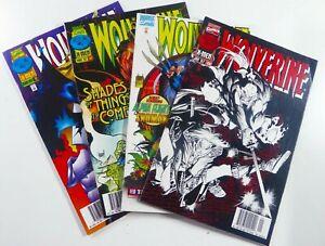 Marvel WOLVERINE (1996) #109 110 111 112 NEWSSTAND LOT Ships FREE!
