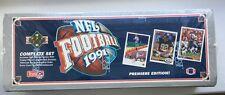 1991 Upper Deck Football Premier Edition Brett Farve Rookie 700 Cards Sealed