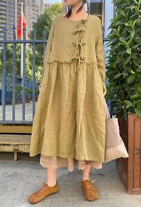 Robe ample retro ancien vintage Mori superposition shabby hippie chic boheme