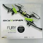 Sky Viper Fury Stunt Drone One Touch Stunts Surface Scan Remote Controller