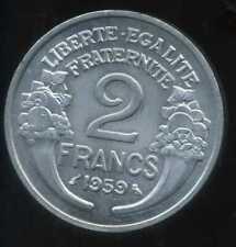 2 FRANCS  morlon alu 1959  SPL