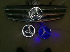 LED car front grille led logo badge emblem for Mercedes-Benz