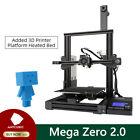 ANYCUBIC Mega Zero 2.0 FDM 3D Printer DIY Kit Metal Frame High Precision+10m PLA