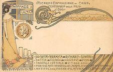 C2200) COMO 1899, ONORANZE A VOLTA, CENTENARIO PILA, CERAMICA RICHARD GINORI.