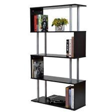Homcom Modern Bookcases, Shelving & Storage Furniture