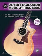 Alfred's Basic Guitar Music Writing Book ,35042