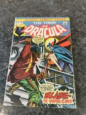 The Tomb of Dracula #10 1st Blade  about a 6.5