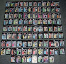 Vintage Star Wars 104 X LOT,SET,MINI BACKING CARDS,CARDBACKS,DISPLAY WITH FIGURE