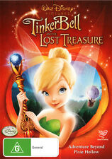 Tinker Bell and The Lost Treasure  - DVD - NEW Region 4