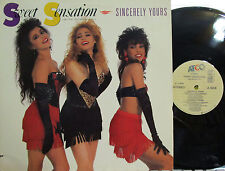"""Sweet Sensation - 12"""" Sincerely Yours (Pic Cover) (4 Mixes) ('88) (w/Romeo J.D.)"""