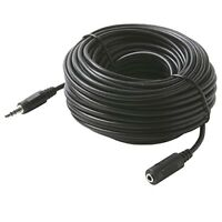 50 ft 3.5mm 1/8 audio computer speaker extension cable