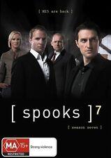 Spooks : Series 7 (DVD, 2009, 4-Disc Set) -- Free Postage --