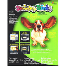 Shrinky Dinks Shrinkable Plastic - For InkJet Printers
