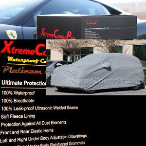 2011 2012 2013 2014 Toyota FJ Cruiser Waterproof Car Cover w/MirrorPocket Grey