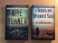 Kite Runner Hosseini Uncorrected Proof Plus Uncorrected Thousand Spendid Suns