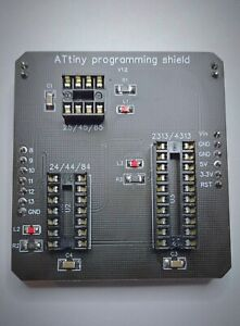 Shield de programmation pour ATtiny pour Arduino v3 / ATtiny Programming shield